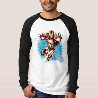Iron Man Watercolor Character Art T-Shirt