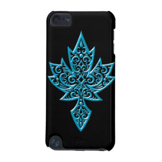 Iron Maple Leaf - blue iPod Touch 5G Cover