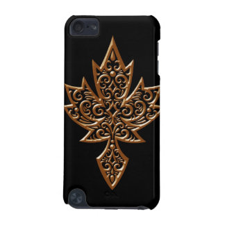 Iron Maple Leaf - brown iPod Touch 5G Cases