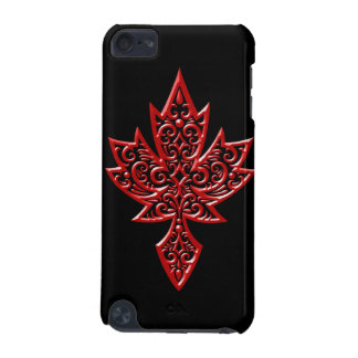 Iron Maple Leaf - red iPod Touch 5G Covers