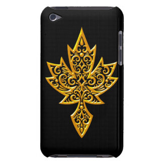 Iron Maple Leaf - yellow Barely There iPod Cover