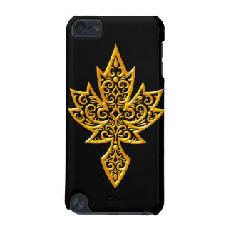 Iron Maple Leaf - yellow iPod Touch (5th Generation) Cover
