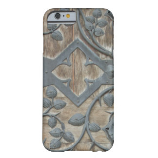 Iron Medieval Lock on Wooden Door Barely There iPhone 6 Case
