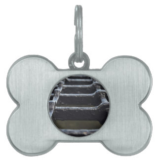 Iron mesh made of thick iron bars pet tags
