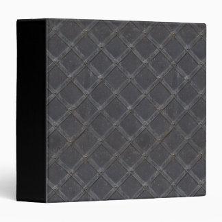 Iron Metal diamond pattern Binder