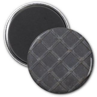 Iron Metal diamond pattern Magnet