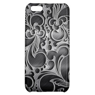Iron Metal iPhone 5C Glossy Finish Case iPhone 5C Case