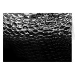 Iron Metal Texture Abstract Blank Card