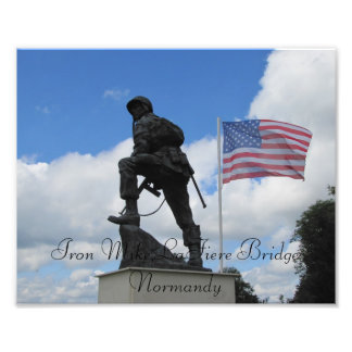 Iron Mike of the U.S. 82nd Airborne Photo Art