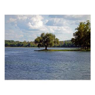 Iron Mountain Lake Postcard