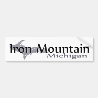 Iron Mountain Michigan Bumper Sticker