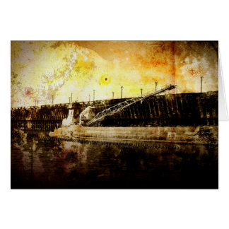 Iron Ore Freighter Card