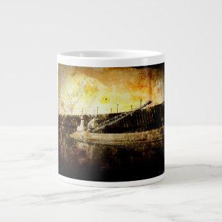 Iron Ore Freighter Large Coffee Mug