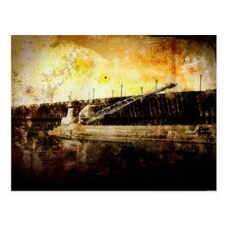 Iron Ore Freighter Postcard
