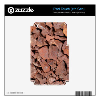 Iron Ore iPod Touch 4G Decals