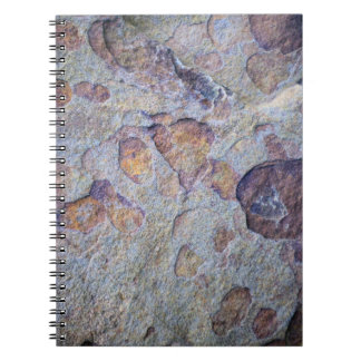 Iron Ore Stone Rock Notebook