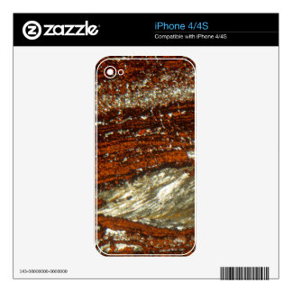 Iron ore under the microscope decal for the iPhone 4S