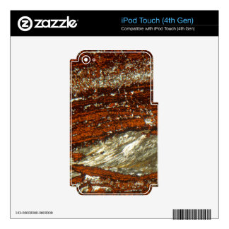 Iron ore under the microscope iPod touch 4G skin
