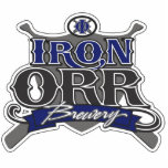 Iron Orr Brewery Sculpture Cut Outs