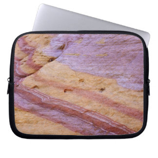 Iron oxides color a sandstone formation laptop computer sleeves