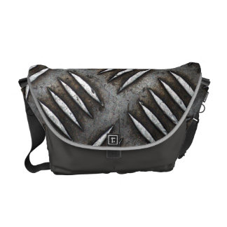 Iron plate courier bag