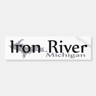 Iron River Michigan Bumper Sticker