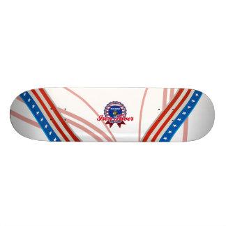 Iron River WI Skateboard Deck