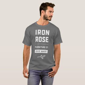 Iron Rose Furniture Full Logo t-shirt