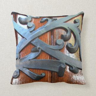 Iron Scroll / Wooden - American MoJo Pillow