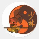 iron shaolin bunny fury sticker