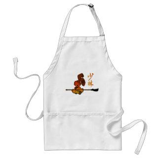 iron shaolin bunny kwan dao adult apron