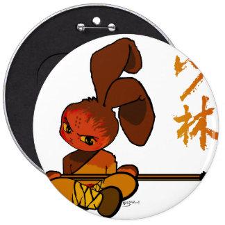 iron shaolin bunny kwan dao button