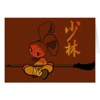 iron shaolin bunny kwan dao cards