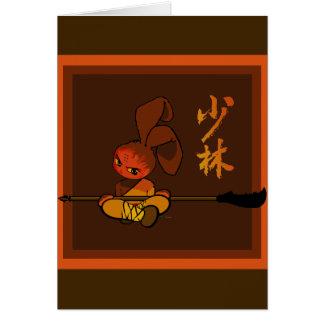 iron shaolin bunny kwan dao card