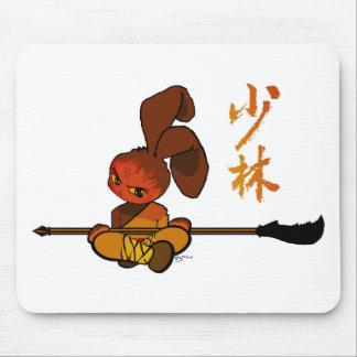 iron shaolin bunny kwan dao mousepads