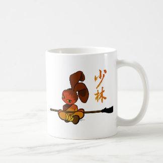 iron shaolin bunny kwan dao coffee mug