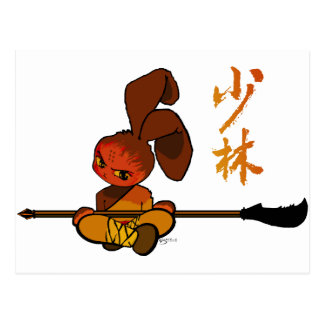 iron shaolin bunny kwan dao postcards