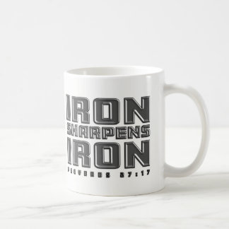 Iron Sharpens Iron Christian Men's Bible Verse Mug