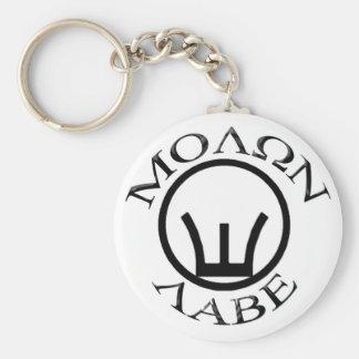 Iron Sights/Molon Labe Keychain