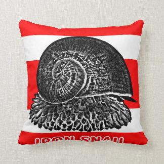 "Iron snail ""Scaly-foot"" of Deep-sea Throw Pillow"