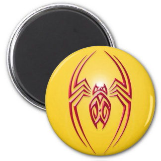 Iron Spider – Red and Yellow Fridge Magnet