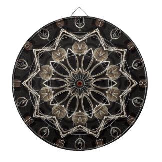 Iron Star Kaleidosocpe Dart Board