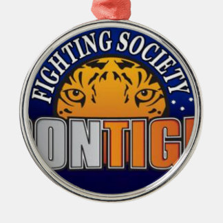 Iron Tiger Fighting Society Store Metal Ornament