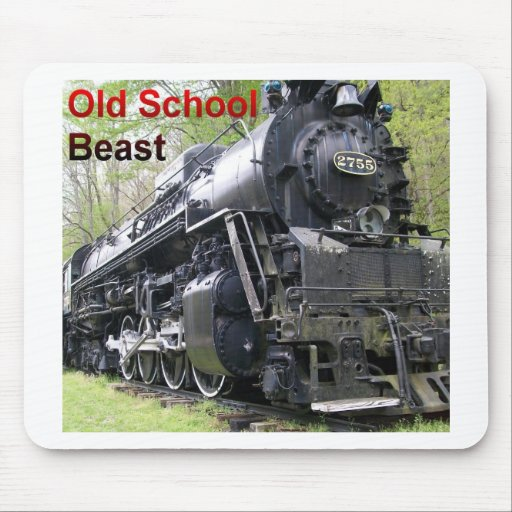 Iron Train Old School Beast Mouse Pad