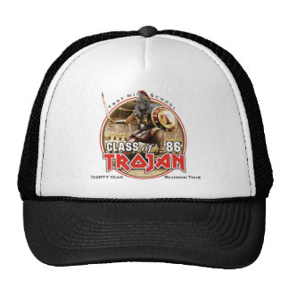 Iron Trojan Concert Tee (white or light colors) Trucker Hat