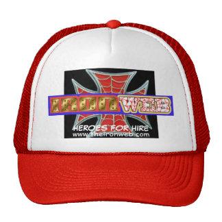 Iron Web Iron Cross Cap Trucker Hat