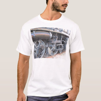 Iron Wheels Majestic Iron Horse Railroad Engine T-Shirt