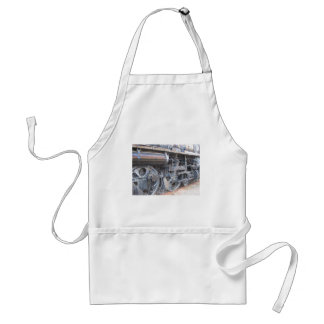Iron Wheels of a Majestic Iron Horse Railroad Adult Apron