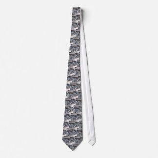 Iron Wheels of a Majestic Iron Horse Railroad Neck Tie