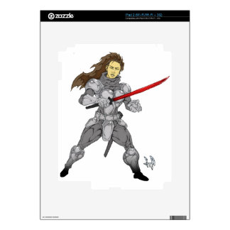 Iron Will Maiden Sylvia Decal For The iPad 2